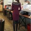 Short Sleeve Lace Mini Womens Dresses Online - Black