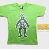 T-Shirt เสื้อยืดเด็ก เสื้อยืดกันดั้ม Shocker solder (Zaku II) สุดเท่ห์ สีเขียว จากร้าน GUNZU เสื้อยืดเด็ก!! Asia Street Fashion