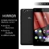 """ฟิล์มกันรอย Wiko Pulp Fab 4G (5.5""""นิ้ว) แบบสะท้อน (Mirror)"""