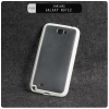 เคส Bumper Samsung Galaxy Note2 กรอบเคส ขอบกันกระแทก พร้อมเคสฝาหลัง สีขาว