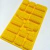 Lego Bricks Robot Mini Man Combination Silicone Ice Tray เหลือง