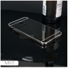 เคส Meizu MX5 l เคสฝาหลัง + Bumper (แบบเงา) ขอบกันกระแทก สีสเปซเกรย์