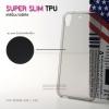 เคส HTC Desire 628 เคสนิ่ม Super Slim TPU บางพิเศษ พร้อมจุด Pixel ขนาดเล็กด้านในเคสป้องกันเคสติดกับตัวเครื่อง สีดำใส
