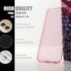 เคส iPhone 6 / 6s l เคสนิ่ม Slim TPU (แบบพิเศษ) จุด Pixel ขนาดเล็กพร้อมครอบคลุมส่วนกล้องยิ่งขึ้น สีชมพูใส