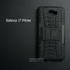 เคส Samsung Galaxy J7 Prime เคสบั๊มเปอร์ กันกระแทก Defender (พร้อมขาตั้ง) สีดำ