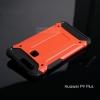 เคส Huawei P9 Plus เคสบั๊มเปอร์ (เสริมขอบกันกระแทก) สีแดง Hybrid Protection