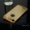 เคสสำหรับ iPhone 7เคสฝาหลัง + Bumper ขอบกันกระแทก (เสริมขอบกันกระแทก) สีทอง (แบบ Luxury)