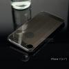 เคส iPhone 7 และ 8 เคสฝาหลัง + Bumper ขอบกันกระแทก (เสริมขอบกันกระแทก) สีสเปซเกรย์ (แบบ Luxury)