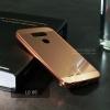 เคส LG G5 เคสฝาหลัง + Bumper (แบบเงา) ขอบกันกระแทก สีโรสโกลด์ (Luxury)