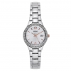 Seiko SUR769 Women's Stainless Steel Silver Bracelet Band Silver Dial Watch