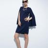 dress ชุดเดรสทํางาน แฟชั่น สีกรม แขนยาว สวยมากๆ ค่ะ Asia Street Fashion