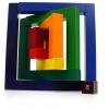 Angular Wooden Puzzle Block Toy ตัวต่อมุมฉากสร้างสรรค์ไม่รู้จบ