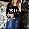 Seoul Secret Say's... Gossip New York Print Dress