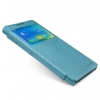 เคส Lenovo P90 เคสฝาพับ Nillkin Sparkle สีฟ้าอมเขียว