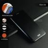 เคส Vivo X6 เคสฝาพับ + แผ่นเหล็กป้องกันตัวเครื่อง (บางพิเศษ) สีดำ