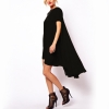 Audew ZANZEA Chiffon Women is Dresses Online Asymmetrical hem Long Tops Casual PartyBeach Ladies Dresseses (Intl)
