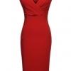 Cyber Zeagoo Women Casual Boat Neck Short Sleeve Lace Off ShoulderMini Bodycon Dresses Online ( Black ) (Intl)