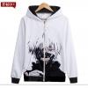 Preorder เสื้อกันหนาวฮู้ดมีซิป Tokyo Ghoul ver 2
