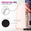เคส iPhone 7 Plus และ 8 Plus เคสนิ่ม TPU แบบหนา (Protection TPU) เสริมมุมลดแรงกระแทก สีส้มใส