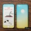 เคส iPhone 6 / iPhone 6s เคสแข็งความยืดหยุ่นสูง (ด้านหน้า/ด้านหลัง) สีสันสดใส (สีฟ้า/สีเหลือง)