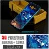 เคส Samsung Galaxy A8 Bumper + Cover พิมพ์นูน สามมิติ (แบบสไลด์) ลาย J