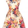 Cocotina Floral Dresses OnlineDenim ( Blue )