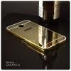 เคส Samsung Galaxy J5 l เคสฝาหลัง + Bumper (แบบเงา) ขอบกันกระแทก สีทอง
