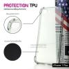 เคส iPhone 7 Plus และ 8 Plus เคสนิ่ม TPU แบบหนา (Protection TPU) เสริมมุมลดแรงกระแทก สีดำใส