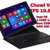 Chuwi Vi10 10.6 นิ้ว 2 ระบบ Windows 8.1 และ Android 4.4 พร้อมเคสคีย์บอร์ดตรงรุ่น