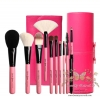 ชุดแปรงแต่งหน้า รุ่นพิเศษ /10 ชิ้น Cerro Qreen Professional Pink Makeup Brushes Dream Set - Pink (Limited Edition)