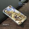 เคส iPhone 6 / 6S (4.7 นิ้ว) เคส TPU พื้นผิวเงาสะท้อน (Blu-ray Series) แบบที่ 15 คริสตัล 2 PJCASE