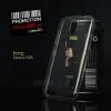 เคส HTC Desire 526 | เคสนิ่ม Super Slim TPU บางพิเศษ พร้อมจุด Pixel ขนาดเล็กด้านในเคสป้องกันเคสติดกับตัวเครื่อง สีใส
