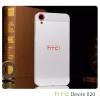 เคส HTC Desire 820 / 820s l ฝาหลัง + ขอบกันกระแทก Bumper สีเงิน