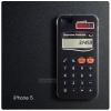 เคส iPhone 5 / 5S / SE เคส TPU พิมพ์ลาย เครื่องคิดเลขสีดำ
