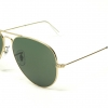 Ray Ban Aviator RB3025 L0205 size 58mm.