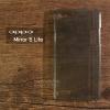 เคส OPPO Mirror 5 Lite เคสแข็งสีเรียบความยืดหยุ่นสูง สีดำใส (Mirror 5 Lite)