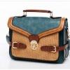 กระเป๋า Axixi กระเป๋าสไตล์คลาสสิค โทนสีฟ้าทะเลเมดิเตอร์เรเนียน ร้าน Asia Street Fashion