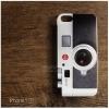 เคส iPhone 5 / 5S / SE เคส TPU พิมพ์ลาย กล้องสีขาว (Leica)