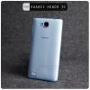 เคส Huawei Honor 3C Soft Case เคสนิ่ม TPU แบบใส-บางพิเศษ (สีฟ้าใส)
