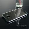 เคส Samsung Galaxy S6 Edge+ (Edge plus) เคสฝาหลัง + Bumper แบบเงา ขอบกันกระแทก สีสเปซเกรย์ (แบบ Luxury)