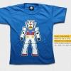 T-Shirt เสื้อยืดเด็ก เสื้อยืดกันดั้ม Mobie Suit Gundam (Zaku II) สุดเท่ห์ สีฟ้า จากร้าน GUNZU เสื้อยืดเด็ก!! Asia Street Fashion