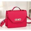 กระเป๋า Axixi กระเป๋าสไตล์ญี่ปุ่น และสไตล์เกาหลี มี 2 โทนสีให้เลือก สีมูสแอปริคอท และเชอร์รี่ Rose