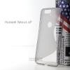 เคส Huawei Nexus 6P เคสนิ่ม TPU แบบทูโทน สีดำ/ดำใส