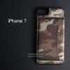 เคส iPhone 7 และ 8 เคส Bumper หุ้มหนัง (ลายทหารสีน้ำตาล) พร้อมช่องใส่บัตร (ฝาพับแม่เหล็ก)