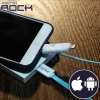 ROCK Safe 2 in 1 Charge Speed Data - สายชาร์จ 2IN1 iOS / Android