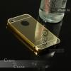 เคส iPhone 4 / 4s l เคสฝาหลัง + Bumper (แบบเงา) ขอบกันกระแทก สีทอง