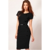 Cyber 2015 Free Shipping Woman's Vintage Rockabilly Pinup BodyconFitted Party Pencil Shift Sheath Dresses For Women Trendy Fashion Style Online ( Black )