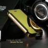 เคส iPhone 5/5S/SE เคสฝาพับ ฝาหลังแบบเงา สีทอง