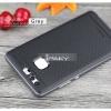 เคส Huawei P9 เคส iPaky Hybrid Bumper เคสนิ่มพร้อมขอบบั๊มเปอร์ สีดำ ขอบ เทา Deep Grey