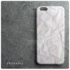 เคส iPhone 6 Plus เคสนิ่ม TPU พิมพ์ลาย กระดาษยับ